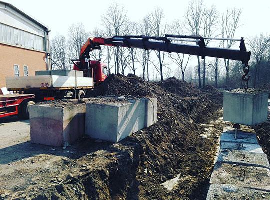 Vendita cubi di cemento